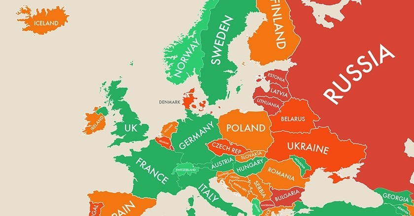 Maps show the happiest countries in the world best of greece maps show the happiest countries in the world gumiabroncs Choice Image