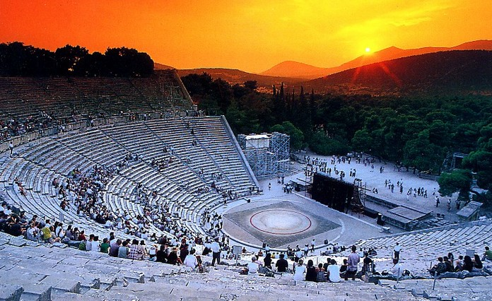 Ancient Theatre in Greece re-opens after 17 centuries